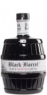 A.H. Riise Black Barrel Spiced Navy Rum 70 cl. 40%