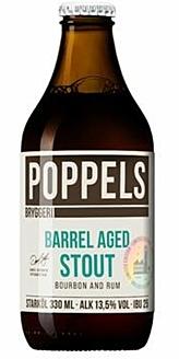 Poppels, Barrel Aged Stout