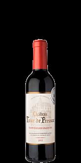 Château Tour de Pressac, St. Emilion Grand Cru 2016 - 37,5 cl