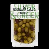 Silver & Green, Rosemary Garlic Olives