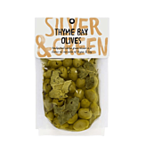 Silver & Green, Thyme Bay Olives