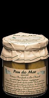 Hvid tun i økologisk olivenolie i glas 220g