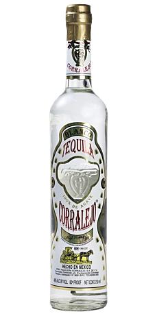 Tequila Corralejo Blanco 38% 70 cl.