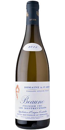 A.F. Gros, Beaune 1er Cru Montrevenots Blanc 2017