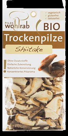 Pilze Wohlrab, Shiitake tørret 20g