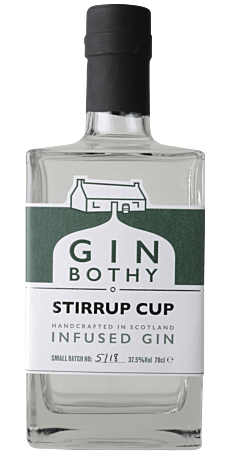 Gin Bothy, Stirrup Cup Gin 37,5% 70 cl.