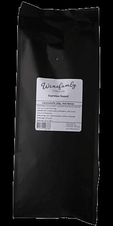 Espresso Napoli 500 g. (Hele bønner)