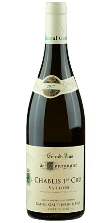 Domaine Raoul Gautherin, Chablis 1er Cru Vaillons 2018