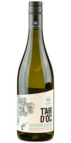 Gayda, T'Air d'Oc Sauvignon Blanc 2019