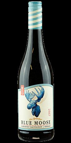 Blue Moose, Cabernet Sauvignon Shiraz 2017