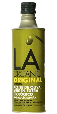 LA ORGANIC INTENSE, ekstra jomfru olivenolie 500ml